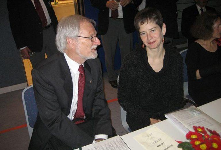 Sandra Janner, Pianistin und Hans Tschäppät, Chorleiter