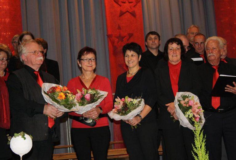 Ehrung für 25 Jahre Mitgliedschaft Bild R. Panknin