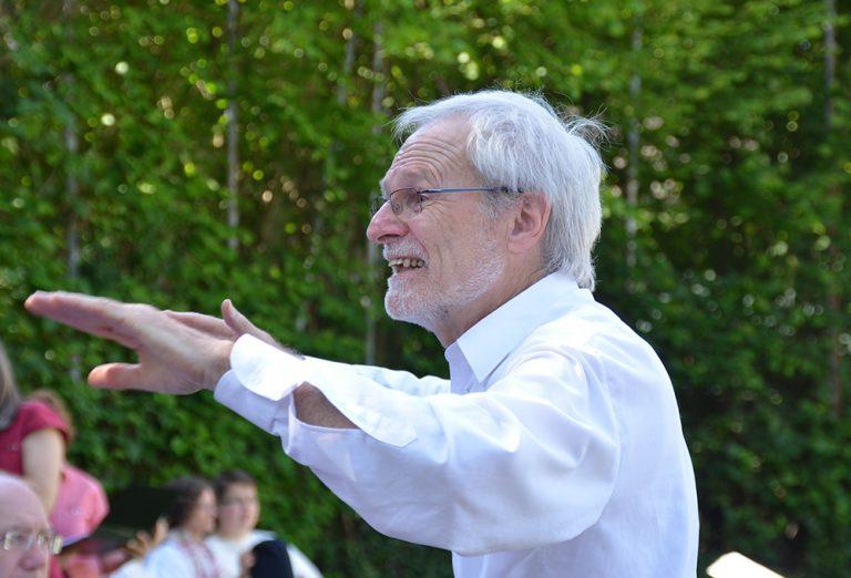 Dirigent Hans Tschäppät (C) Archivbild Dorfschreiber Uto R. Bonde